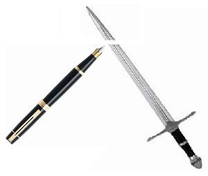 強し ペン より は 剣 も